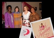 Celebrating ISIS-WICCE's anniversary in Uganda